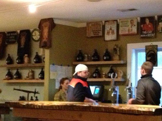 Mad Horse Brew Pub:                                     The bar!