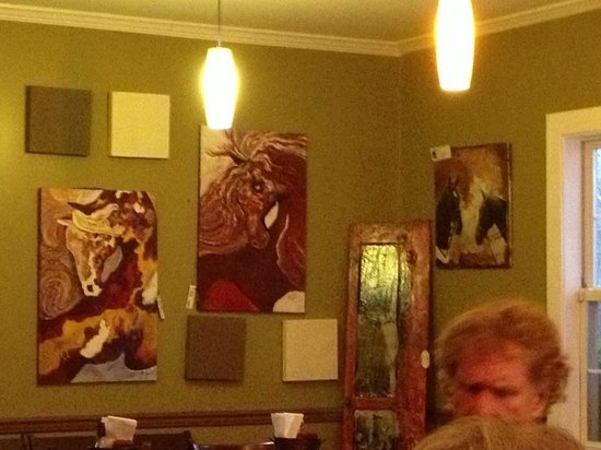 Mad Horse Brew Pub:                                     Mad Horse art.