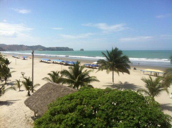 Hotel Cielo Azul :                   Zimmeraussicht nach Süden