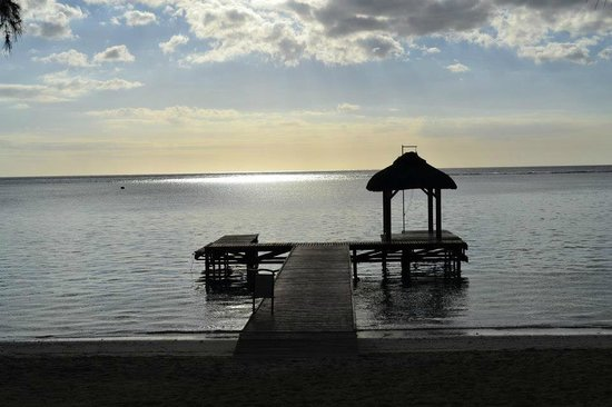 Hilton Mauritius Resort & Spa:                   ponton de l'hotel