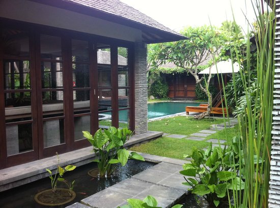 Peppers Seminyak:                                                       Our villa