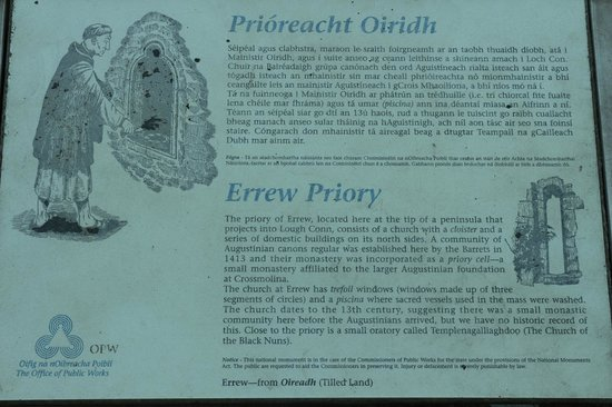 Errew Abbey Co.Mayo N54.0531 W9.2633