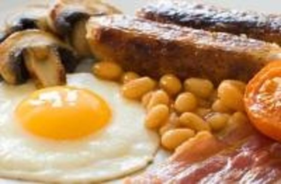 Browside Farmhouse: Full English Breakfast - cooked to order