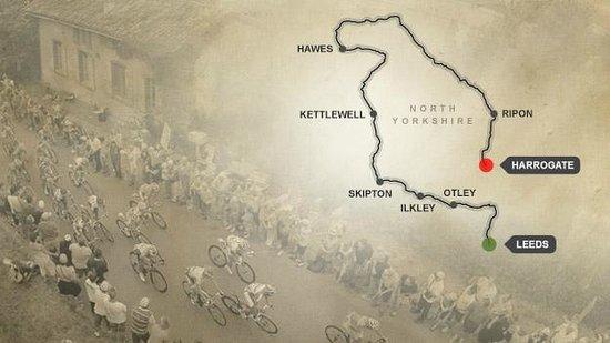 Browside Farmhouse: 2014 Tour de France route Yorkshire Dales