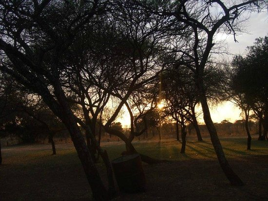 Golden Leopard Resort - Manyane:                   View from the rooms