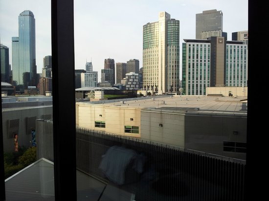 Crown Metropol Melbourne:                   View from Room (floor 8)