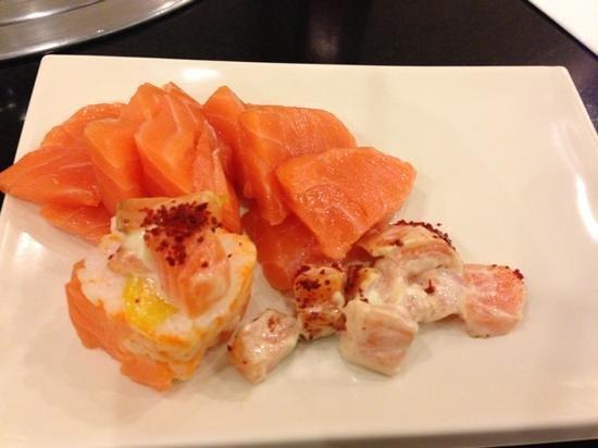 Sambo Kojin:                   Salmon! -Taken with an Apple iPhone 5
