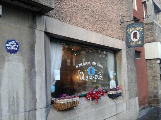 Clarinda's Tea Room:                   витрина чайной