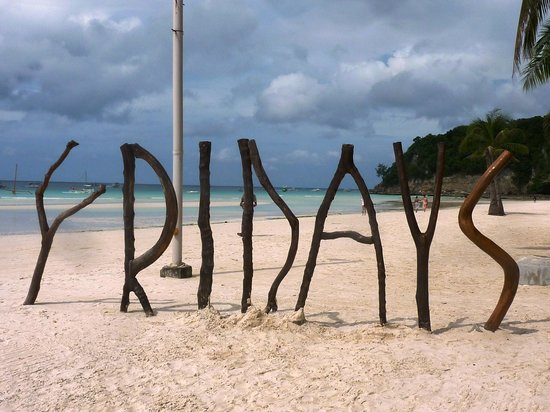 Fridays Boracay Resort:                   La plage du Fridays