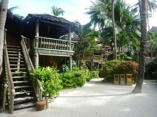 Fridays Boracay Resort:                   Bungalows du Fridays