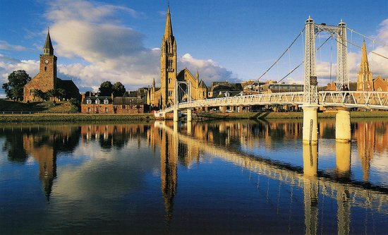 Inverness Student Hotel : The nearby River Ness
