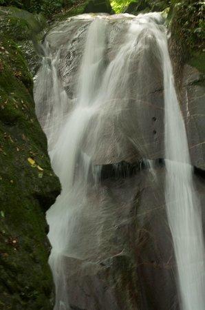 Kota Kinabalu District, Malaysia:                   Waterfall