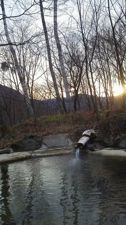 Nonohana Sanso:                   野天風呂からの眺め