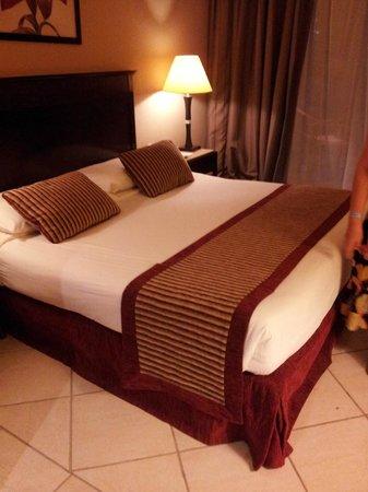 Jaz Mirabel Beach:                   Our bedroom