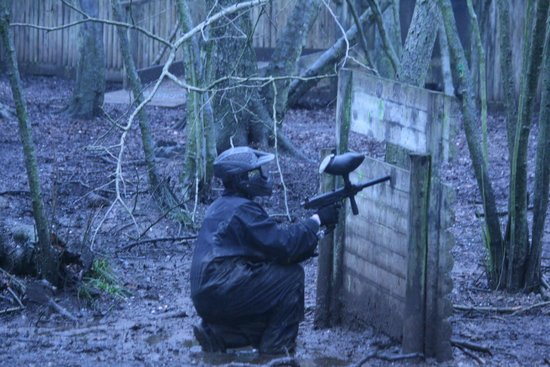 Delta Force Paintball Cardiff:                   Lets get em!!