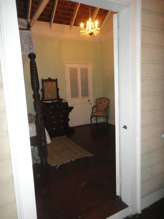 Bellefield Great House & Gardens:                   One of the many rooms till preserved!