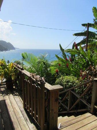 Carpe Diem Villa:                   view from the balcony