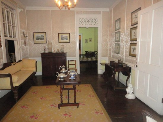 Bellefield Great House & Gardens :                   the drawing room