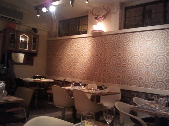 Bistro Edelweiss:                                     A view of the interior