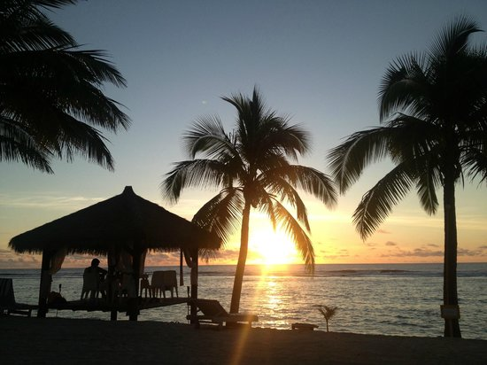 Crown Beach Resort & Spa:                   Sunsets you'll never forget