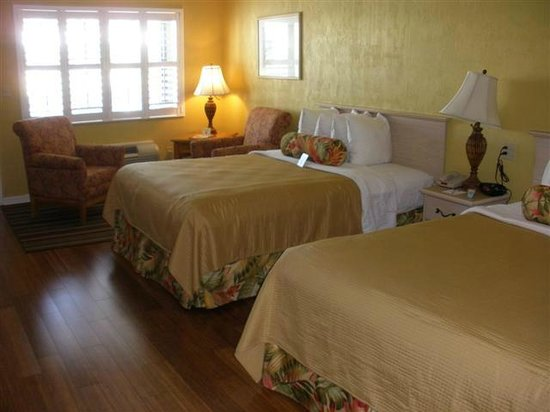 BEST WESTERN Hibiscus Motel:                   Large, clean, airy .. 2Q room, poolview, 2nd floor
