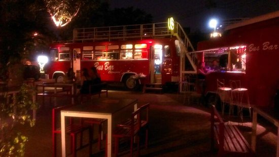 The Magic Bus Cafe:                   Bus Bar Chiangmai 2013