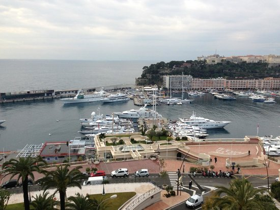 Hotel de Paris Monte-Carlo:                   View from room