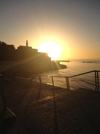 دان بانوراما تل أبيب:                   sunset over Old Jaffa                 