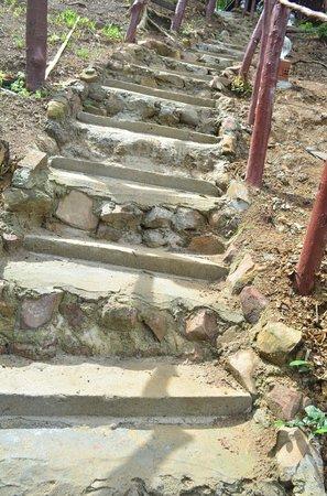 Phi Phi Power Beach Resort:                                     The famous cemnet steps
