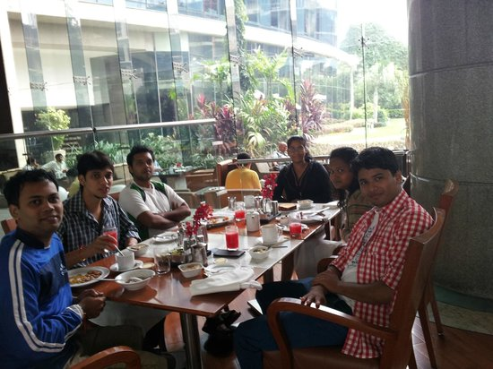 Hyatt Regency Mumbai:                                     Breakfast