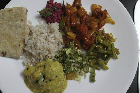 Beena Homestay:                   an abundance of food, a gastronomic delight