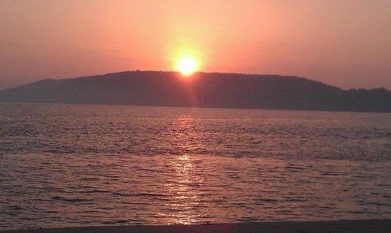 Sunrise at Morjim Goa