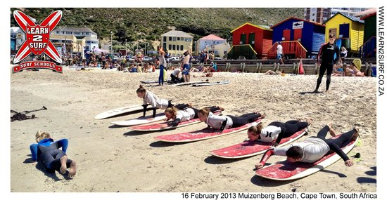 Learn 2 Surf Cape Town