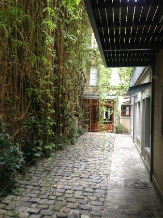L'Hotel Palermo: Eingang