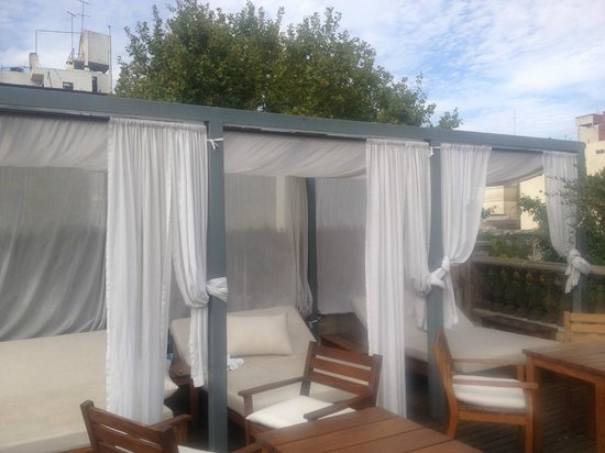 L'Hotel Palermo: Rooftop Lounge