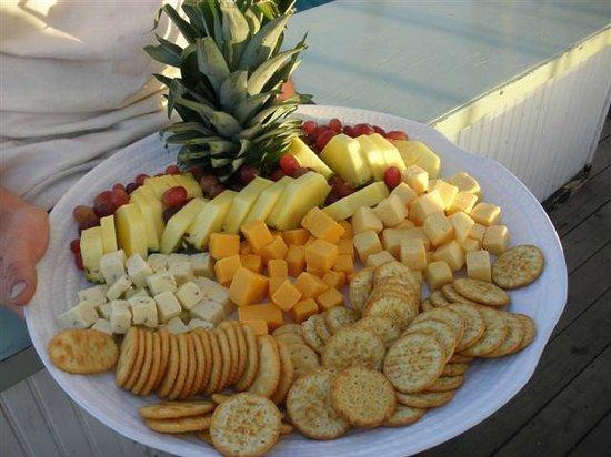 Schooner Appledore:                                     Snacks!