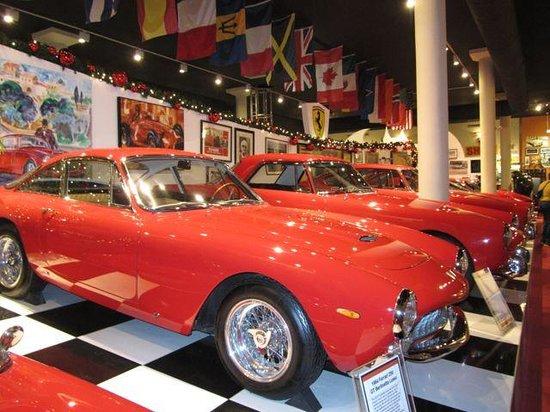 Cayman Motor Museum:                   Ferraris
