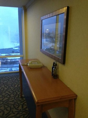 Niagara Falls Marriott on the Falls:                   Houskeeping were not good - these 2 bottles stayed on the table near 6-th floo