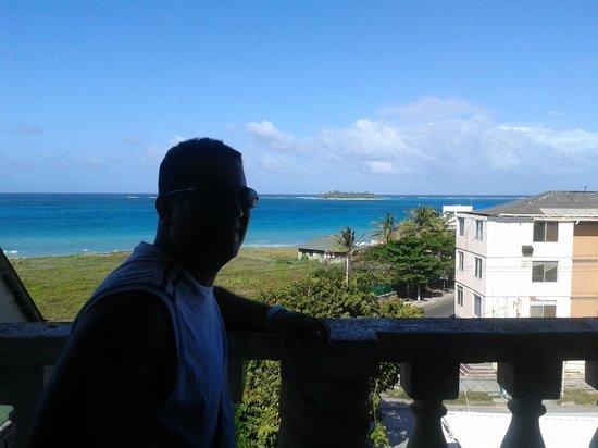 Sheylla's Place:                   Vista desde el balcón