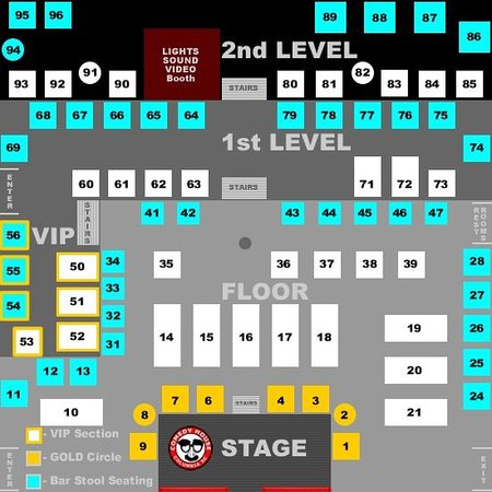 seating chart buy tickets online picture of the comedy house