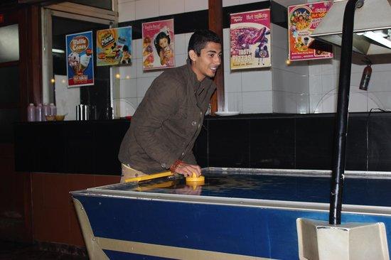 Hot Millions:                   air hockey