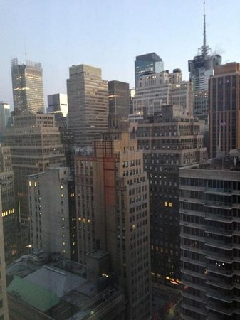 Hilton Garden Inn New York/West 35th Street:                   Sicht aus Zimmer 2909