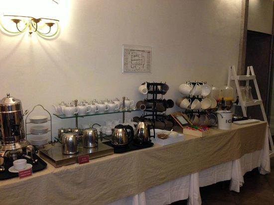 Hotel Adriano: Sala Colazione