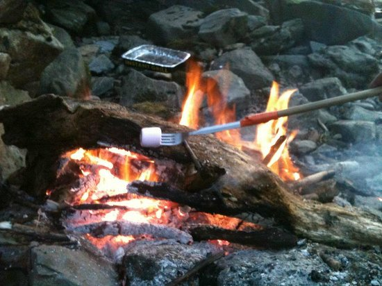 Pitlochry Backpackers Hotel: campfires