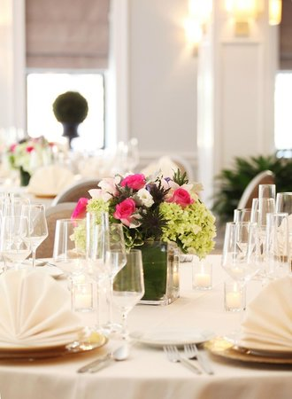 Hotel Wales: Special Event Table Setting