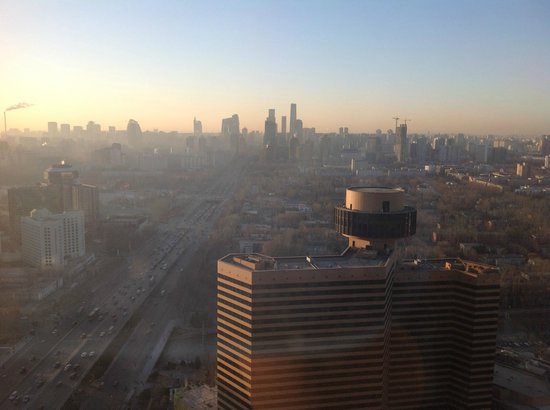 The Westin Beijing Chaoyang:                   View from the lounge