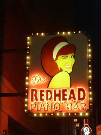 Redhead Piano Bar John