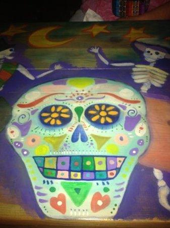 La Terraza:                   our tabletop.