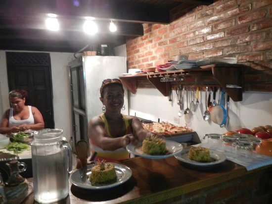 Posada Va Pensiero e la cuoca Maria