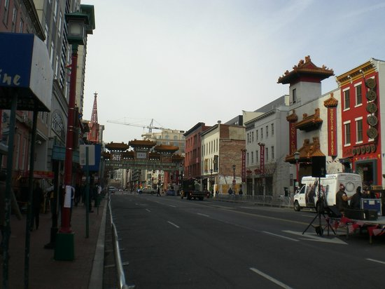 Chinatown Archway:                   Chinatown, Washington DC